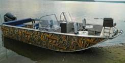 Wyatboat. 2019 год, длина 6,10м., двигатель подвесной, 150,00л.с., бензин. Под заказ
