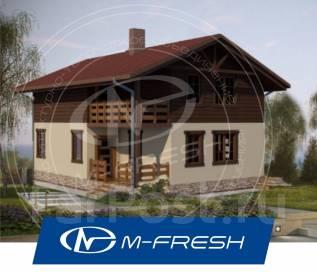 M-fresh Tomas-зеркальный (Каркасный дом с мансардой). 100-200 кв. м., 2 этажа, 5 комнат, каркас