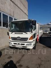 Hino. Продается грузовик с манипулятором, 6 403 куб. см., 3 000 кг.