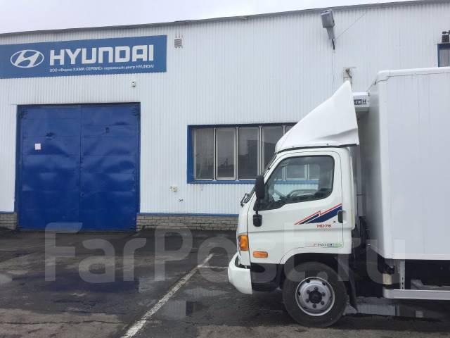 Hyundai HD78. Рефрижератор Hyundai HD 78, 3 933 куб. см., 3 950 кг.