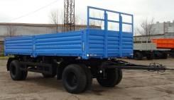 Сзап 8357-02. Нефаз 83320110100-01 прицеп бортовой (бывший СЗАП 8357-02), 12 500 кг.