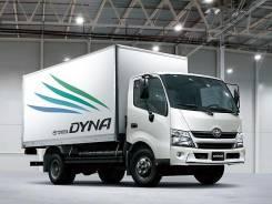 Toyota Dyna. Toyota Dyna 1998г. 3B фургон