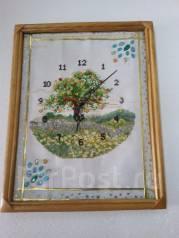Часы - картина для интерьера