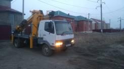 Mitsubishi Fuso. Продам автобуровую, полная пошлина, с пробегом, 8 200 куб. см.