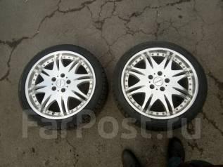 Продам пару колес с жирной зимней резиной. x18 5x114.30