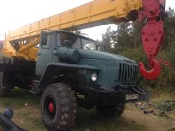 Урал. Продаеться автокран 25т, вездеход, ивановец, 25 000 кг., 21 м.