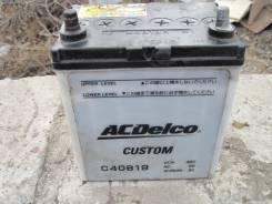 Acdelco. 40 А.ч., левое крепление, производство Япония