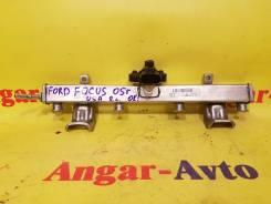 Топливная рейка. Ford Focus, DFW, DNW, DBW Двигатели: EYDD, EDDF, EDDB, FYDD, EYDB, FYDH, EYDK, EYDG, EYDC, FYDB, EYDE, EYDI, EDDD, EYDJ, EYDL, FYDA...