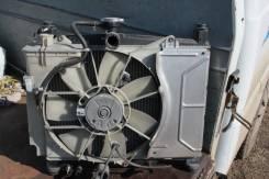 Радиатор охлаждения двигателя. Toyota Vitz, SCP13, SCP10 Toyota Yaris, SCP10, SCP12 Toyota Platz, SCP11 Двигатели: 1SZFE, 2SZFE