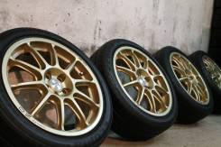 Крутой редкий спорт=MADE in Italy=OZ Racing Prodrive+супер спорт шины!. 7.0x17 5x100.00 ET52