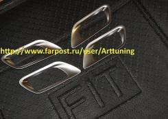 Накладка на ручки дверей. Honda Fit, GK6, GK3, GK5, GK4, GP6, GP5
