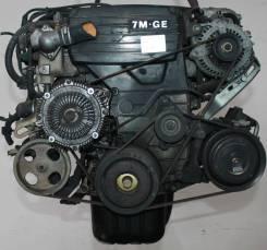 Двигатель в сборе. Toyota Sprinter Carib, AE115G, AE115 Двигатель 7AFE