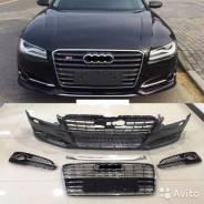 Обвес кузова аэродинамический. Audi A8 Audi S8