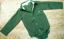 Боди-рубашки. Рост: 74-80, 80-86 см