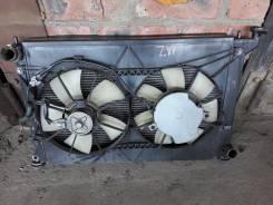 Радиатор охлаждения двигателя. Toyota Wish, ANE11, ANE10, ZNE10, ZNE10G, ANE10G, ANE11W Двигатели: 1ZZFE, 1AZFE, 1AZFSE, D4