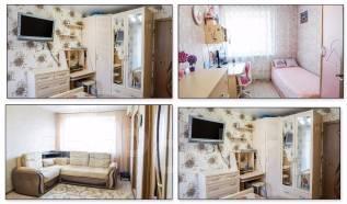 4-комнатная, улица Локомотивная 1. Железнодорожный, агентство, 61 кв.м. Интерьер