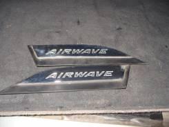 Эмблема. Honda Airwave, DBA-GJ1, DBA-GJ2, GJ1, GJ2, DBAGJ1, DBAGJ2 Двигатель L15A