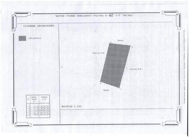 Дача в районе Весенней 28 км, улица 3 ключ. От агентства недвижимости (посредник). Схема участка