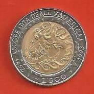 500 лир, 1992 г. Сан-Марино.