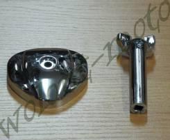 Крышка на карбюратор +вентиль регулировки топлива STEED хром