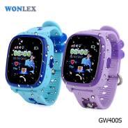 Суперновинка - Детские водонепроницаемые часы-телефон Wonlex GW400S