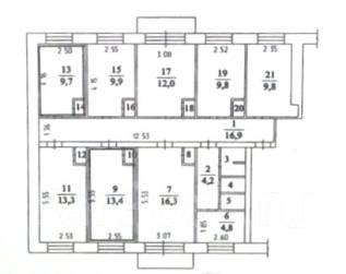 6 комнат и более, улица Демьяна Бедного 1. Центральный, агентство, 130 кв.м.