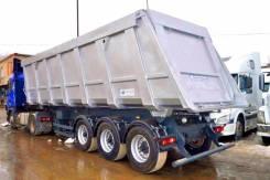 Wielton. Самосвальный полуприцеп ПЗГТ 84400F металловоз углевоз зерновоз, 40 000 кг.
