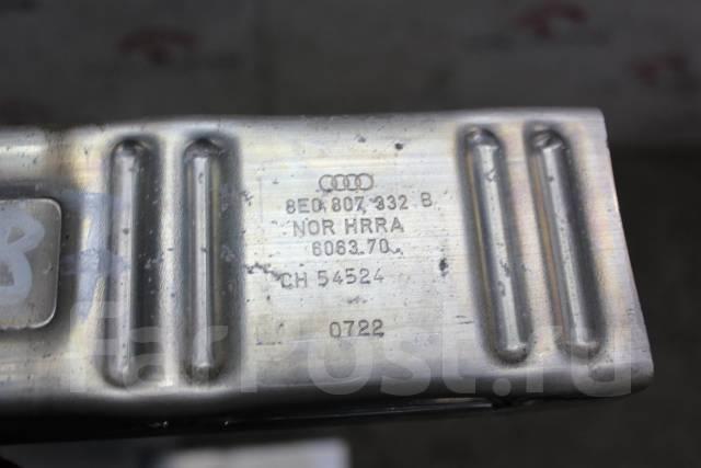 Жесткость бампера. Audi A4, B7