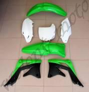 Комплект пластика Polisport KX450F 12 Зелено-черный 90466