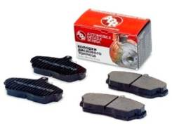 Колодки тормозные передние АБС 3302-3501090 33023501090