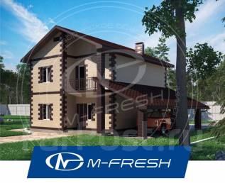 M-fresh Saturn-зеркальный (В гостиной-столовой красивый эркер! ). 200-300 кв. м., 2 этажа, 5 комнат, бетон