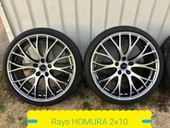 225-35-19, RAYS Homura 2X10, в пути. 8.5x19 5x100.00 ET45 ЦО 73,1мм.
