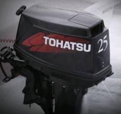 Tohatsu. 25,00л.с., 2х тактный, бензин, нога S (381 мм), Год: 2015 год