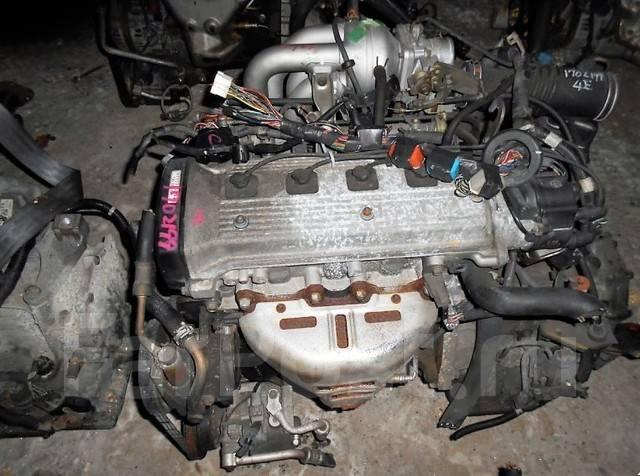 Двигатель в сборе. Toyota: Corsa, Sprinter, Tercel, Corolla II, Starlet, Corolla Двигатели: 4EFE, 4EF