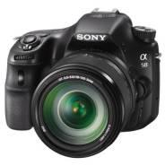 Sony Alpha SLT-A58. 20 и более Мп, зум: 14х и более