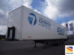 Kogel. Полуприцеп SP-24 цельнометаллический фургон в Москве, 28 800 кг.