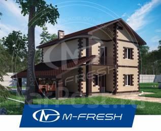 M-fresh Saturn (Посмотрите проект уютного дома с 5 комнатами! ). 200-300 кв. м., 2 этажа, 5 комнат, бетон