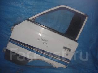 Дверь боковая. Subaru Sambar, KR1