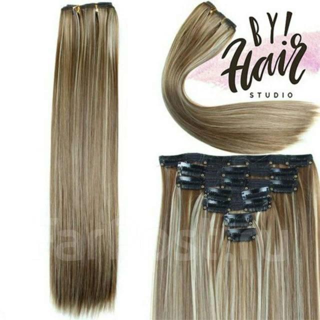Волосы для наращивания и на заколках
