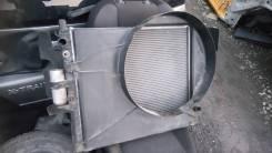Радиатор охлаждения двигателя. Mercedes-Benz ML-Class, W163 Двигатель 112