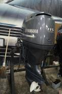 Yamaha. 115,00л.с., 4х тактный, бензин, нога L (508 мм), Год: 2013 год