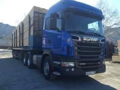 Scania R. Седельный тягач Scania 6х4, 15 000 куб. см., 26 000 кг.
