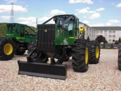 John Deere. Трелёвочный трактор Скиддер 640 L, 6 800 куб. см.