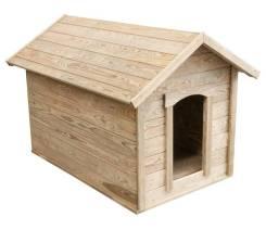 Будки деревянные для собак
