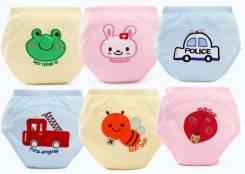 Многослойные подгузники-трусики для малышей с вышивкой!. 9-14 кг 10 шт. Под заказ