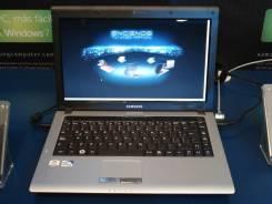 Samsung RV410. 2,6ГГц, ОЗУ 2048 Мб, диск 250 Гб, WiFi, Bluetooth, аккумулятор на 3 ч.