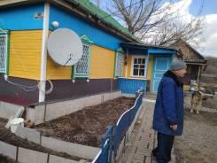 Продам дом в с. Абражеевка, Черниговского района. Советская дом 10, р-н Черниговский, площадь дома 27 кв.м., скважина, электричество 15 кВт, отоплени...