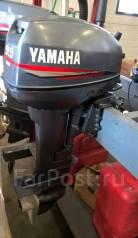 Yamaha. 9,90л.с., 2х тактный, бензин, нога S (381 мм), Год: 1998 год