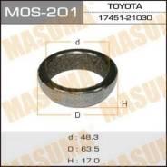 Кольцо глушителя 48,3x63,5x17 Masuma MOS-201 174510D060,1745121030