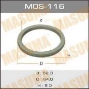 Кольцо глушителя 52x64x5 Masuma MOS-116